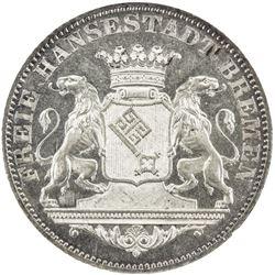 BREMEN: Free City, AR 36 grote, 1864. NGC MS65