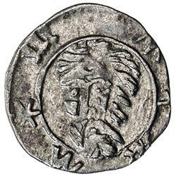 BRESLAU: Sigismund von Luxemburg, 1419-1437, AR heller (0.31g). EF