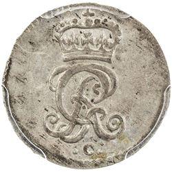 BRUNSWICK-CALENBERG-HANNOVER: AR mariengroschen, 1751-C. PCGS MS64
