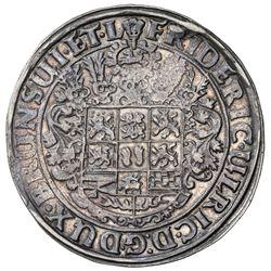 BRUNSWICK-WOLFENBUTTEL: Frederick Ulrich, 1613-1634, AR thaler, 1624. VF-EF