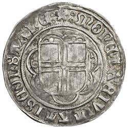 CONSTANCE (CITY): Anonymous, ca. 1499-1533, AR batzen (3.27g), ND. EF