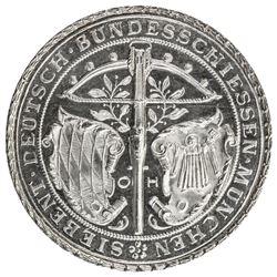 MUNICH: AR medal (26.99g), 1881. UNC