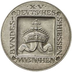 MUNICH: AR medal (29.96g), 1906. EF-AU