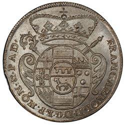 MUNSTER: Franz Arnold von Wolff-Metternich, 1707-1718, AR 6 mariengroschen, 1715. PCGS MS65