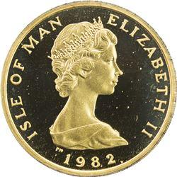 ISLE OF MAN: Elizabeth II, 1952-, AV penny, 1982. PF