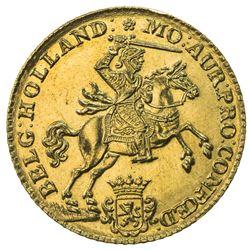 HOLLAND: Dutch Republic, AV 14 gulden (9.94g), 1750 (sic). BU