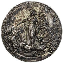 NETHERLANDS: AR medal (45.31g), 1650. VF
