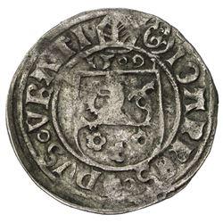 SILESIA: Johann von Turzo, 1506-1522, AR groschen (2.50g), Breslau, 1509. VF
