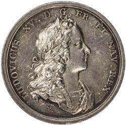 POLAND: AR medal (20.35g), 1725. EF