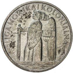 POLAND: AR medal, 1935. AU