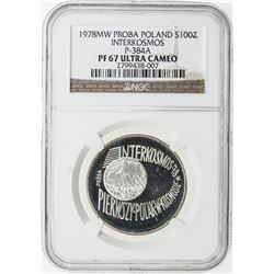 POLAND: LOT of 7 silver coins, graded by NGC