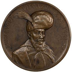 ROMANIA: AE medal, 1901. EF