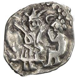 NOVGOROD: Republic, 1420-1478, AR denga (0.75g). VF