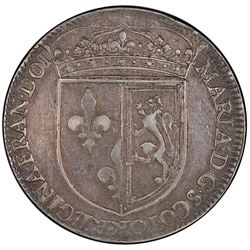 SCOTLAND: James VI, 1567-1625, AR counter, ND [1579]. PCGS VF30