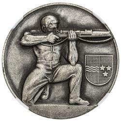 AARGAU: AR medal, 1945. NGC MS66