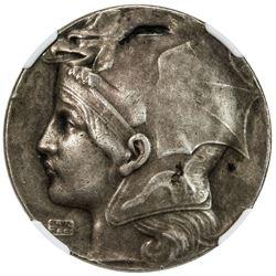 BASEL: AR medal, 1909. NGC AU55