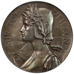 NEUCHATEL: AR medal, 1900. NGC AU58