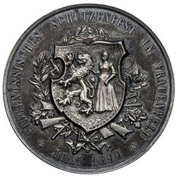 SWITZERLAND: AR medal, 1890. AU
