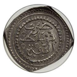 MOROCCO: Muhammad III, 1757-1790, AR 10 dirhams (mithqal), Rabat al-Fath, AH1189. NGC MS62