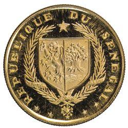 SENEGAL: Republic, AV 10 francs, 1968. PF