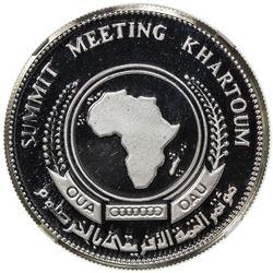 SUDAN: Democratic Republic, AR 10 pounds, [1978/AH1398]. NGC PF67