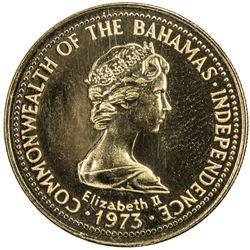 BAHAMAS: Elizabeth II, 1952, AV 150 dollars (8.17g), 1976. PF