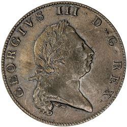 BERMUDA: George III, 1760-1820, AE penny, 1793. VF-EF