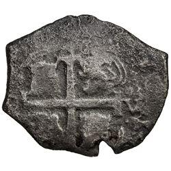 BOLIVIA: Carlos II, 1665-1700, AR 4 reales (8.69g), Potosi, (16)79. G