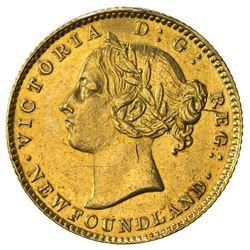 NEWFOUNDLAND: Victoria, 1837-1901, AV 2 dollars, 1888. EF
