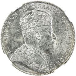 CANADA: Edward VII, 1901-1910, AR 50 cents, 1903-H. NGC AU58