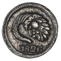 COLOMBIA: Nueva Granada, 1837-1850, AR 1/4 real, Popayan, 1846. VF