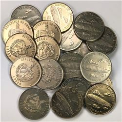 CUBA: LOT of 20 choice uncirculated coins