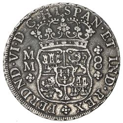 MEXICO: Fernando VI, 1746-1759, AR 8 reales, 1759-Mo. VF-EF