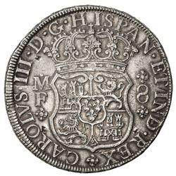 MEXICO: Carlos III, 1759-1788, AR 8 reales, 1769-Mo. VF-EF