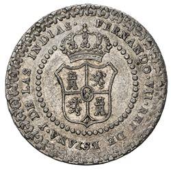 MEXICO: Fernando VII, 1808-1821, AR proclamation medal (6.79g), 1808. EF