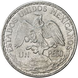 MEXICO: Republic, AR peso, 1910. AU