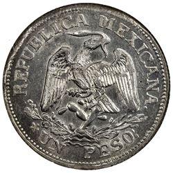 MEXICO: Revoluntionary Issue, AR peso, Taxco, Guerrero, 1915. NGC MS63