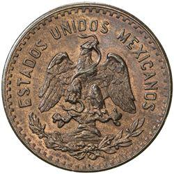 MEXICO: Republic, AE 5 centavos, 1927-Mo. UNC