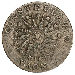 UNITED STATES: Nova Constellatio AE copper pattern, 1785, VF