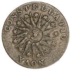 UNITED STATES: Nova Constellatio AE copper pattern, 1785, VF
