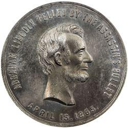 UNITED STATES: aluminum medal, 1909. NGC MS62