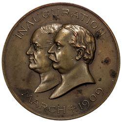 UNITED STATES: AE medal, 1909, Dusterburg-4B51, MacNeil WHT 1909-2, EF, 51mm