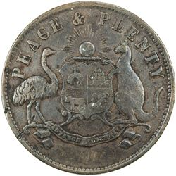 AUSTRALIA: AE penny token, ND [1863], KM-Tn167.2, Renniks-358, Andrews-366, T. F. Merry & Co