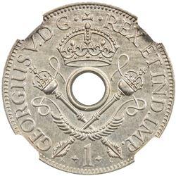 NEW GUINEA: George V, 1910-1936, penny, 1929. NGC PF63