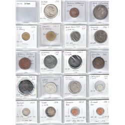 WORLDWIDE: LOT 31 European coins