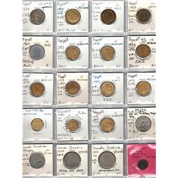 WORLDWIDE: LOT of 132 coins from Islamic nations