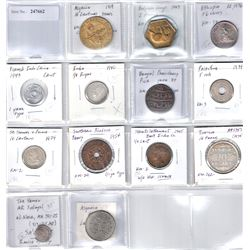 WORLDWIDE: LOT 15 African and Asian coins