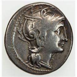 ROMAN REPUBLIC: C. Claudius Pulcher, 110-109 BC, AR denarius (3.84g), Rome, 110-109 BC. F