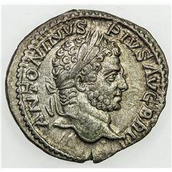 ROMAN EMPIRE: Caracalla, 198-217 AD, AR denarius (2.95g