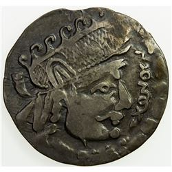 CHORESMIA: Sawrshafan, ca. 751-762, AR tetradrachm (3.13g). VF